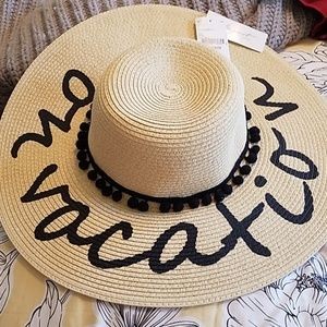 NWT hat On Vacation